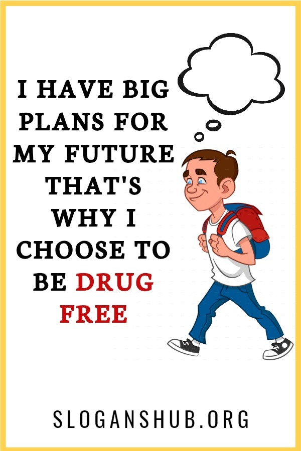 Art Cool Drug Free Posters