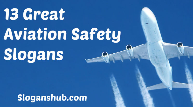 Aviation safety poster template