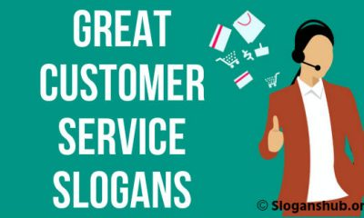 Customer Service Slogans & Sayings