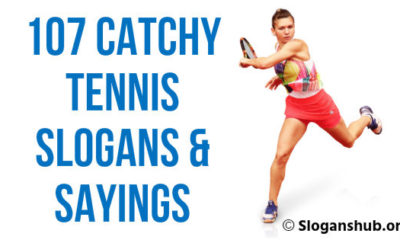 Tennis Slogans & Sayings