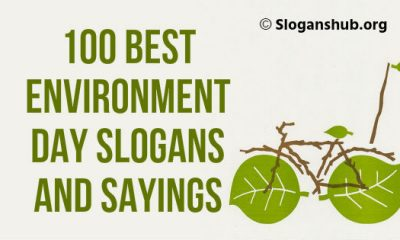 Environment Day Slogans and Sayings