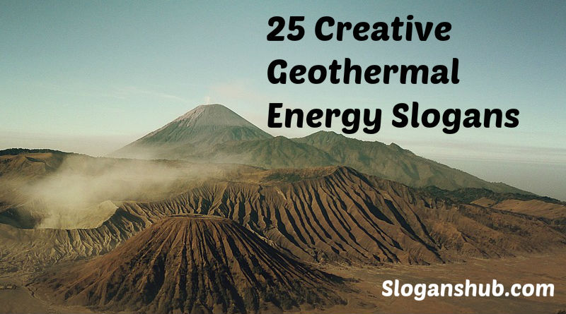 Geothermal Energy Slogans