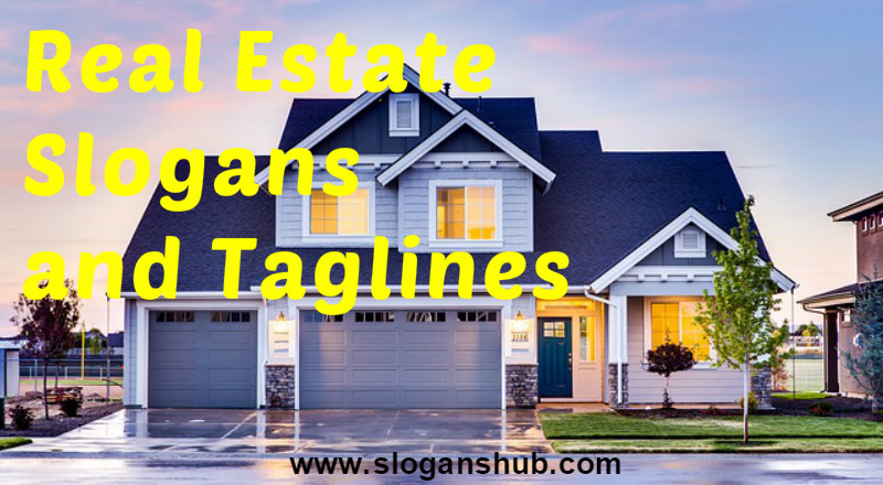 Real Estate Slogans and Taglines