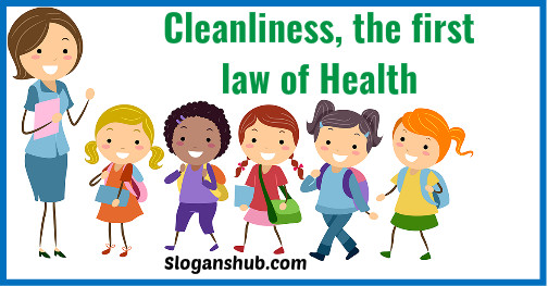 slogans in english on cleanliness