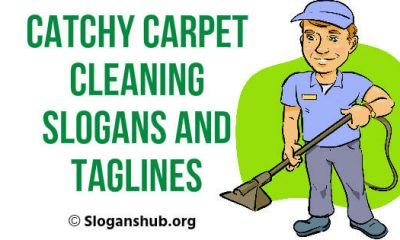 Carpet Cleaning Slogans and Taglines