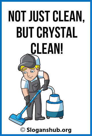 Cleaning Business Slogans 1