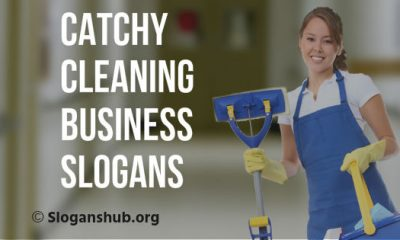 Cleaning Business Slogans