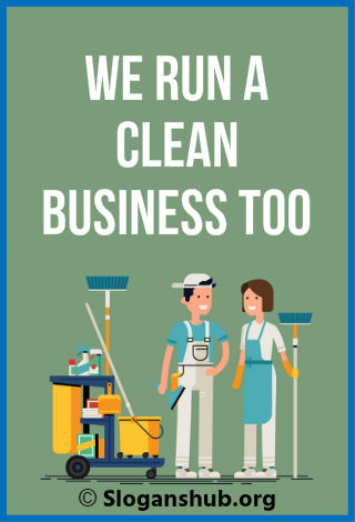 Cleaning Business Taglines
