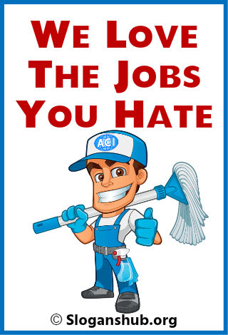 Cleaning Company Slogans 2