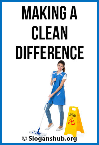 Cleaning Company Slogans