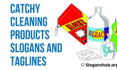 Cleaning Products Slogans and Taglines