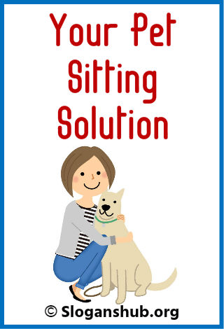47 Catchy Pet-Sitting Slogans and Taglines