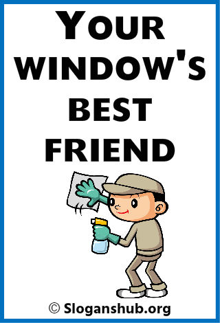 Window Cleaning Company Slogans 3