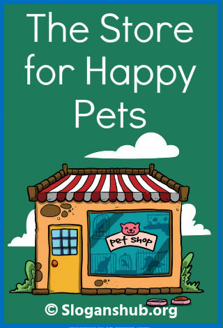57 Catchy Pet Store Slogans & Taglines