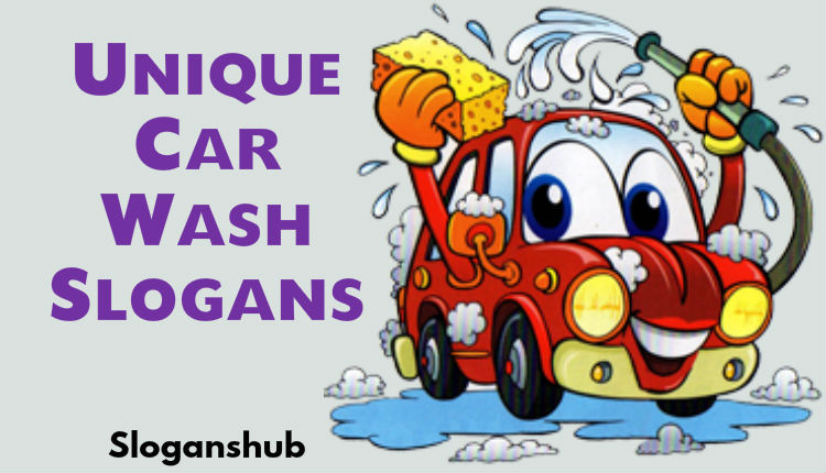 Car Wash Advertising Slogans