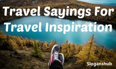 Travel Sayings