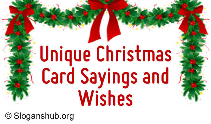 100 unique christmas card sayings and wishes - Christmas Card Wording
