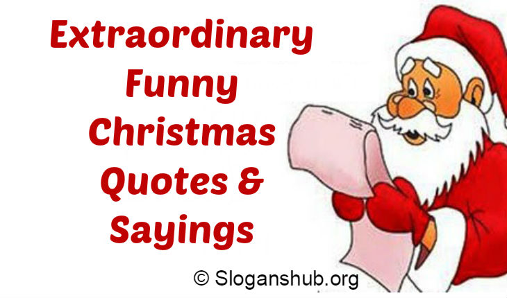 Funny Christmas Quotes U0026 Sayings ...