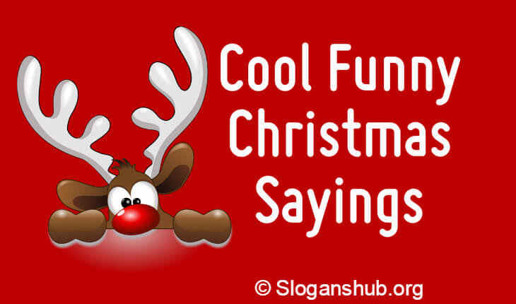 funny christmas saying with christmas girl in silhouette lets be naughty and save santa the short funny christmas sayings and quotes