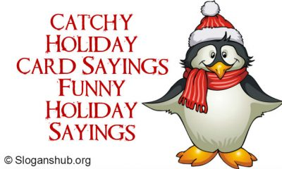 Holiday Card Sayings