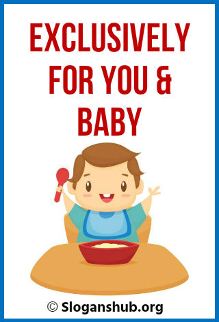 27 Catchy Baby Food Slogans & Taglines
