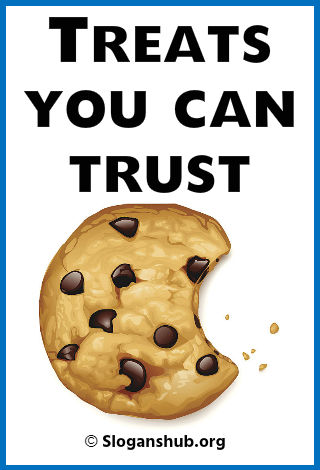 47 Catchy Cookie Slogans Taglines