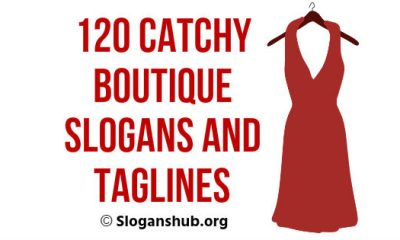 Boutique Slogans and Taglines
