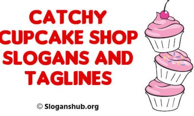 Cupcake Shop Slogans and Taglines