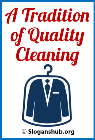 Dry Cleaning Slogans 1
