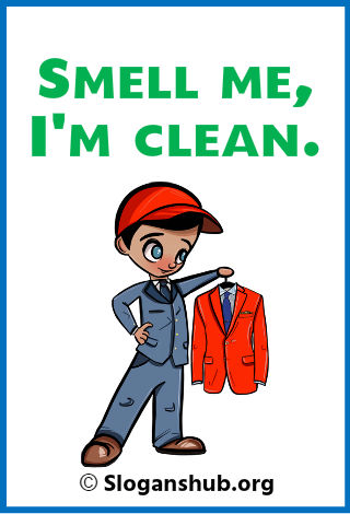 Dry Cleaning Slogans 2