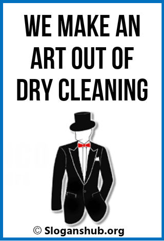 Dry Cleaning Slogans
