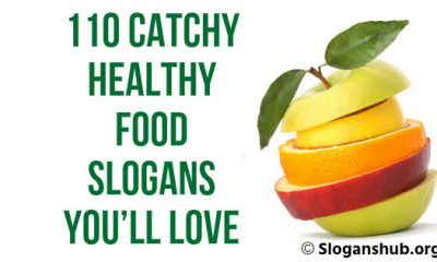 Healthy Food Slogans You'll Love