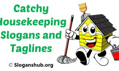 Housekeeping Slogans and Taglines