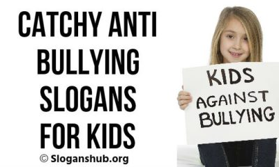 Anti Bullying Slogans for Kids