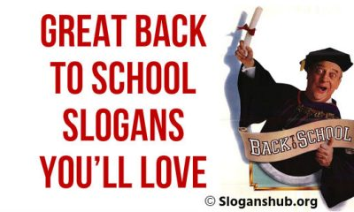 Back To School Slogans You'll Love