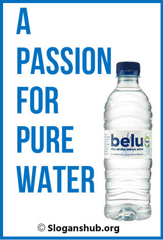 Bottled Water Slogans 3