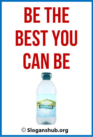 Bottled Water Taglines