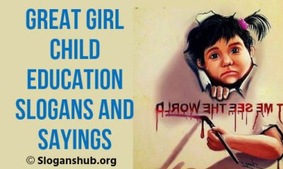 Girl Child Education Slogans and Sayings