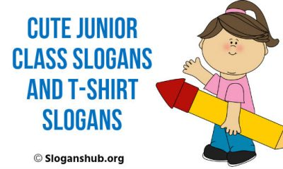 Junior Class Slogans And t-Shirt Slogans