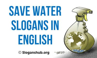 Save Water Slogans in English