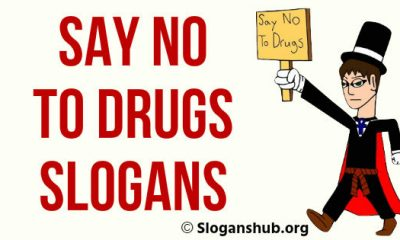 Say No to Drugs Slogans