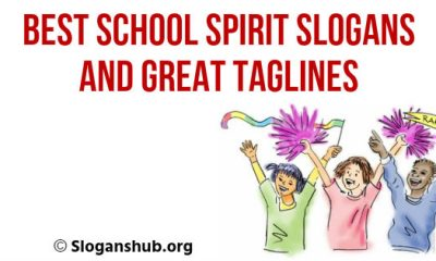 School Spirit Slogans And Great Taglines