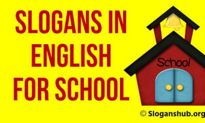Slogans in English for School