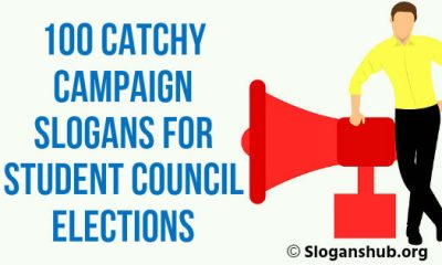 Campaign Slogans for Student Council Elections