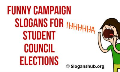 Funny Campaign Slogans for Student Council Elections