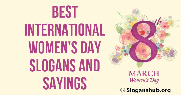 International Women's Day Slogans and Sayings