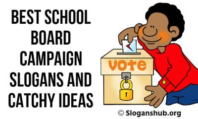 School Board Campaign Slogans and Catchy Ideas
