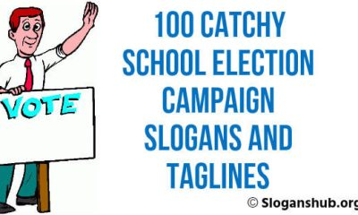 School Election Campaign Slogans and Taglines