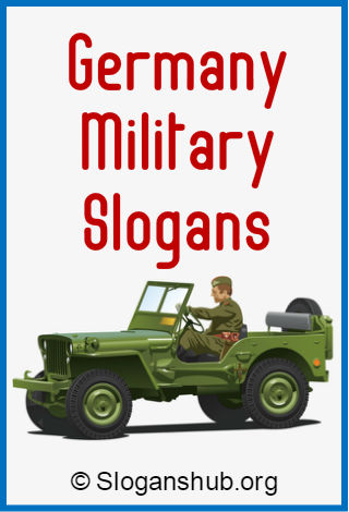 Germany Military Slogans