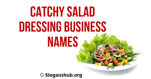 Salad Dressing Business Names